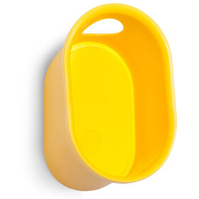 Cycloc Loop Montaje de pared para casco y accesorios, yellow